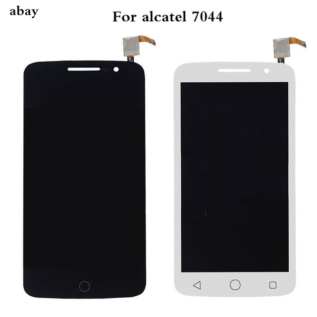 עבור Alcatel One Touch פופ 2 פרימיום 7044 OT7044 7044X 7044Y 7044K 7044A LCD תצוגת עצרת מגע החלפת מסך חלקי