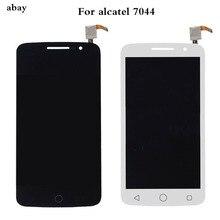 Para Alcatel One Touch Pop 2 Premium 7044 OT7044 7044X 7044Y 7044K 7044A pantalla LCD asamblea de pantalla táctil de reemplazo a