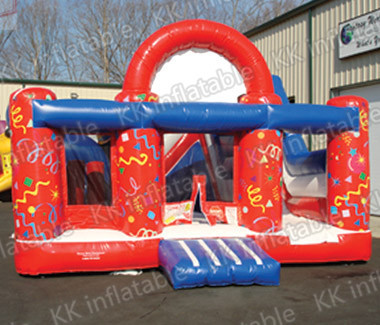 inflatable red font b bouncer b font castle funny for babies jump