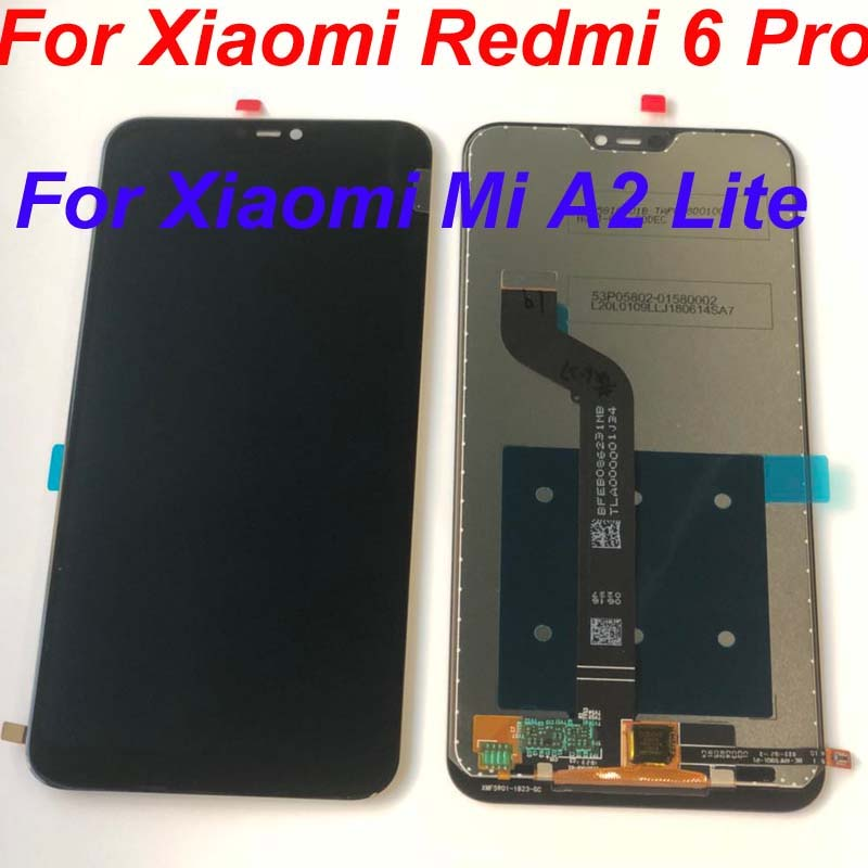 10pcs lot New For Xiaomi Redmi 6 Pro Redmi 6Pro Full LCD DIsplay Touch Screen Digitizer