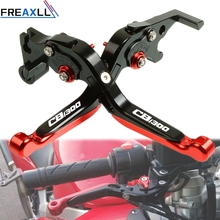 For Honda CB1300 X4 SC38 1997 1998 1999 CNC Aluminum Moto Accessories Adjustable Motorbike Motorcycle Brake Clutch Levers
