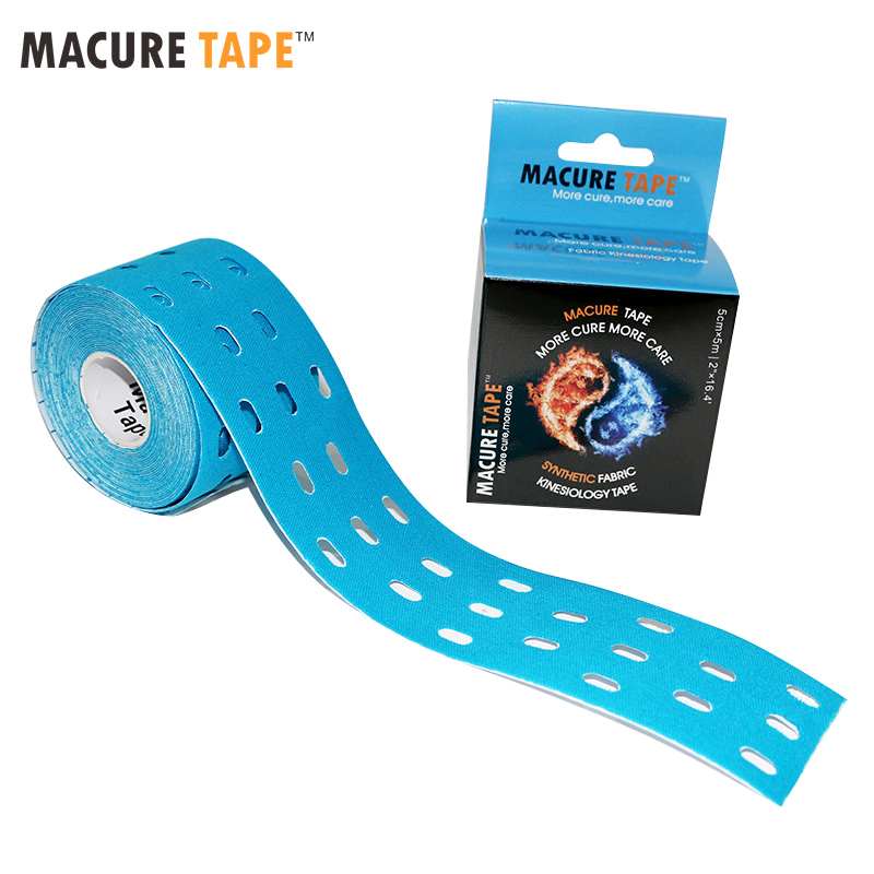 783dd63cb94 5 cm x 5 m Punch Kinesiology Tape Support Healing Pain Stress Relief  Athletic Tapes