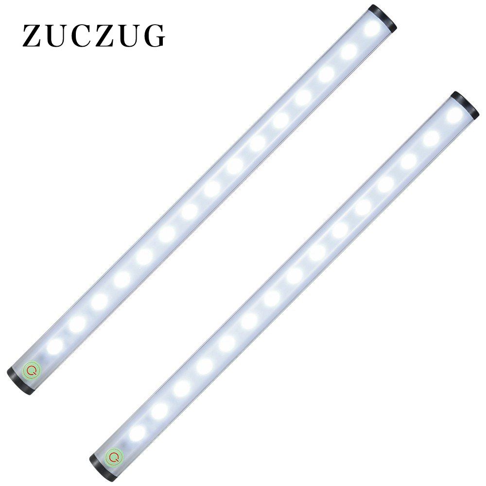 ZUCZUG 2 Pack Rechargeable Stick-anywhere Closet Lights Portable Dimmable LED Night Light, SOS Emergency Tap Stair Lights Cosmet