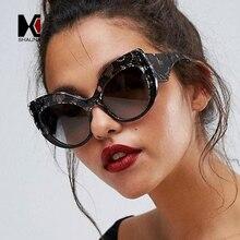 855fdb35120827 SHAUNA Grand Cadre Femmes Cat Eye lunettes de Soleil Serpent Peau Couleur  Gradient Lunettes de Soleil