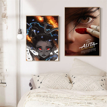 Alita Battle Angel Character Anime Posters HD Canvas Painting Print Living Room Home Decor Modern Wall Art Oil Pictures
