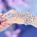 Pulseira Cadeia de noiva Vestido de Noiva Acessórios De Noiva Strass Acessórios de Cabelo Da Moda Bridemaid Acessórios Mão Pulseiras