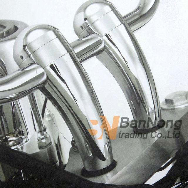 O envio gratuito de 25mm de Metal Modificado Motocicleta guiador torneira aumentando assento Para Harley XL883/1200 48 Softail Dyna FERRO