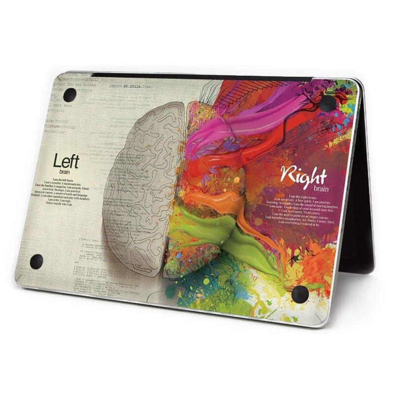 YCSTICKER - 2018 Laptop Sticker Bottom Full Vinyl Decal Left&Right Brain Skin For Macbook Air Retina Pro 11 131512 Sticker