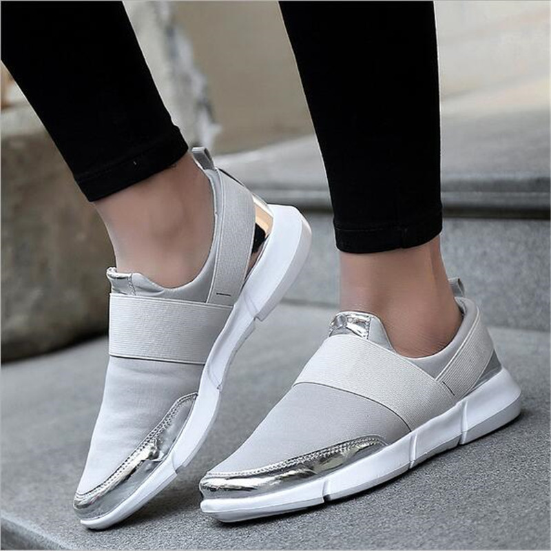 Brand Women Casual loafers Breathable Summer Flat Shoes Woman Slip on Casual Shoes New Zapatillas Flats Shoes Size 35-42 wdzkn 2018 big size 35 42 women shoes breathable casual shoes women spring summer lightweight slip on loafers women flat shoes