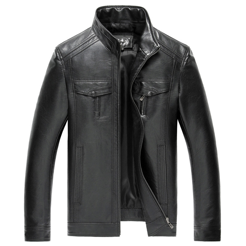 Waterproof leather motorcycle jackets