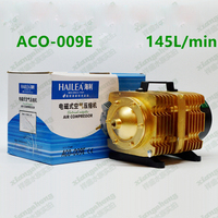 145L/min HAILEA ACO-009E Eléctrica Magnética Acuario Bomba De Aire Del Compresor con 16 Vías Divisor De Aire Aireador Hidroponía Pecera