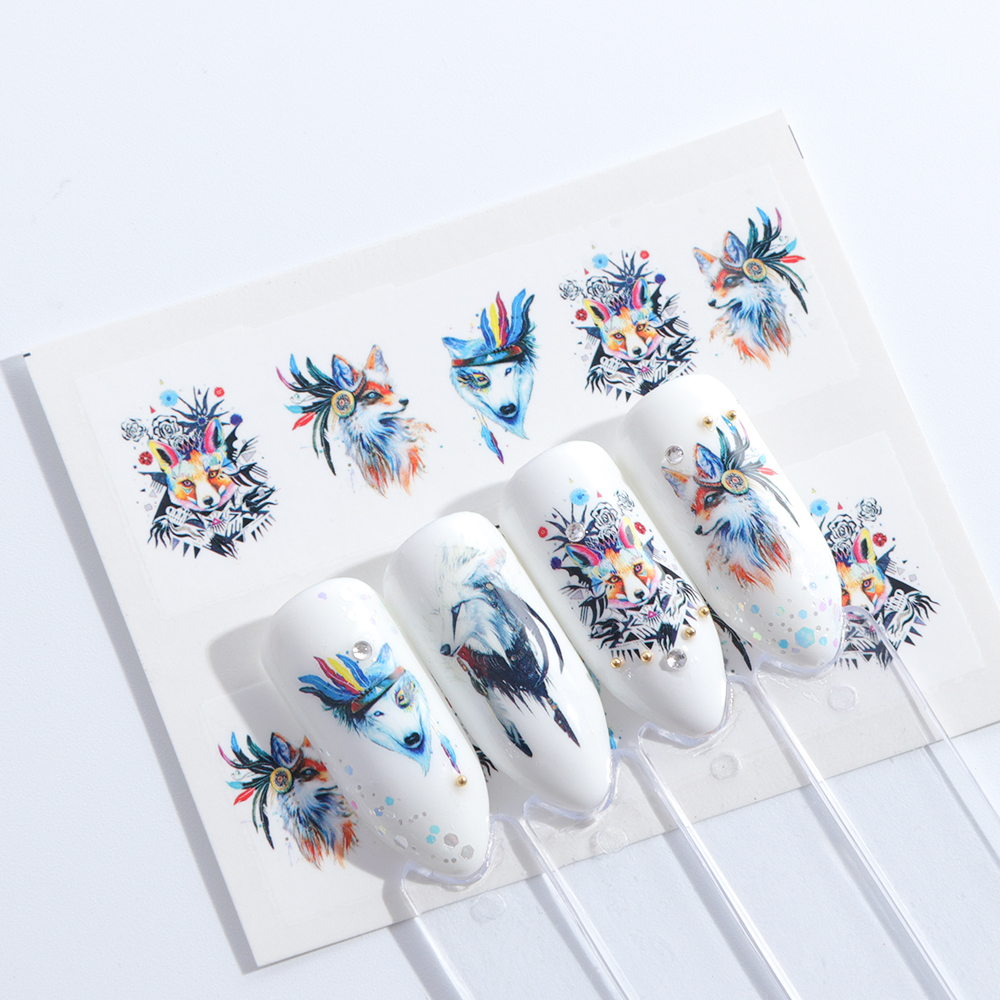 Image 4 - 1 Sheets Summer 2018 Beauty Slider Nail Water Sticker Flower Bloom Colorful Image Nail Art Decals for Decor Tool TRSTZ608 637-in Stickers & Decals from Beauty & Health