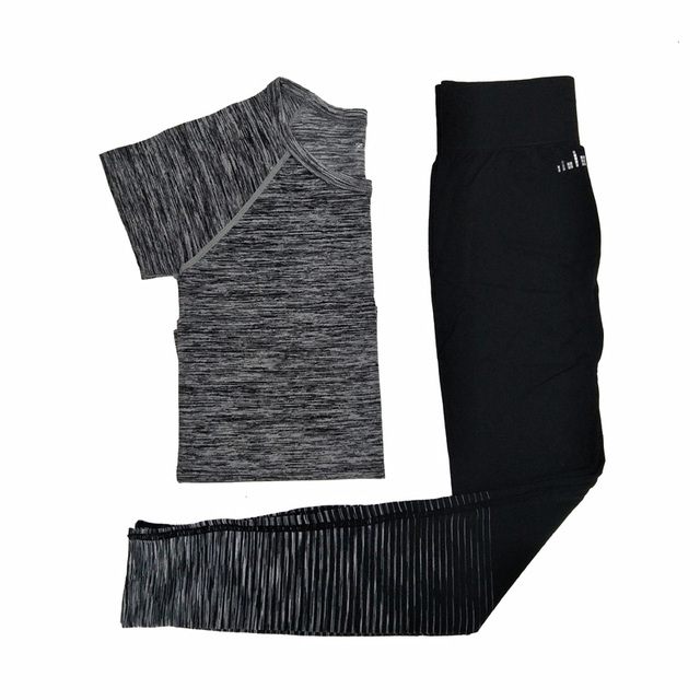 2Pcs Set Quick Dry Fitness Yoga Set