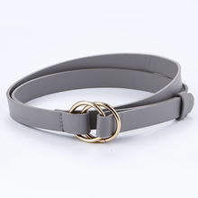 Fashion Knotted Decorative Double Ring Round Circle Belts