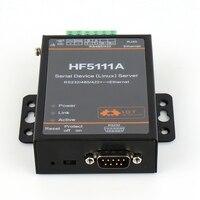 HF5111A Frete Grátis RJ45 RS232/485/422 Para Ethernet Linux Servidor Porta Serial Conversor Dispositivo Industrial
