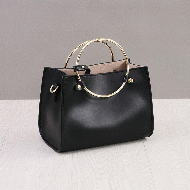 ФОТО New Arrival Leather Handbags Fashion Shoulder Bag Genuine Leather Cross Body Bags Brand Women Messenger Bags