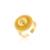 Ethlyn Habesha sistemas de la joyería 24 k chapado en Oro amarillo de cuatro piezas de Pelo Cadena/Pendientes/Anillo/Pendiente de la Cadena diseño de eritrea