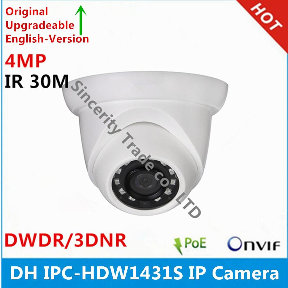 Original DH English version IPC HDW1431S 4MP IR Eyeball IP67 IK10 IP Camera replace IPC HDW1420S