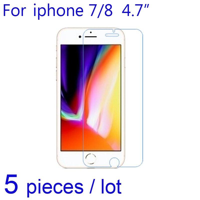 Новинка 2017 года 5 шт. мобильный Экран протектор прозрачный/матовая/Nano Anti-Explosion защитный Плёнки для я телефон i7 <font><b>i8</b></font> 7 плюс 8&#215;10