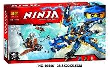 Bela 10446 Ninja Thunder Lightning Dragon of Jay Bricks Minifigures Building font b Block b font