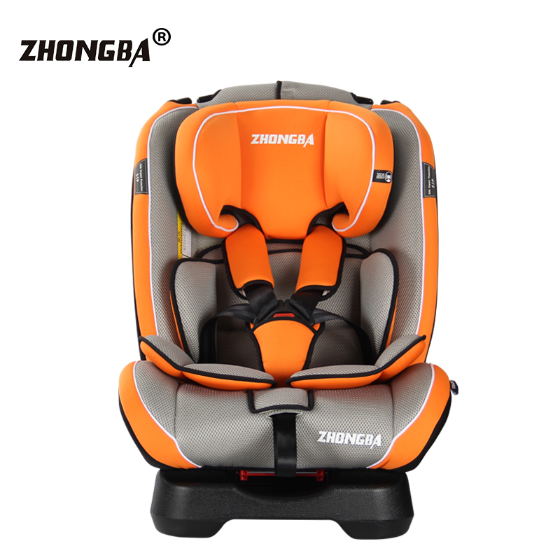 child safety car seat can sit down and forward and reverse installation of baby baby car seat 0-7 years old forward forward command aw15 hooded down jacket