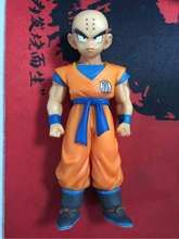 Dragon Ball Z Krillin Goku Vriend Ontwaken Staande Ver. Action Figure DBZ Goku Vegeta Collection Model Speelgoed 11cm(China)