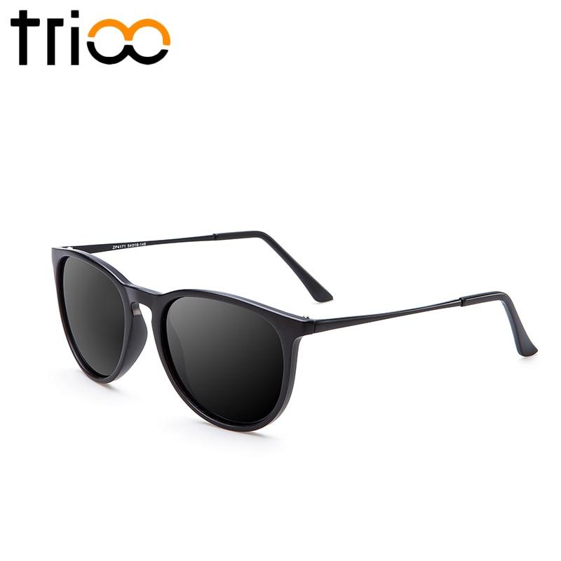 TRIOO Polariserad Spegel Solglasögon För Kvinnor Lyx Märke Färg - Kläder tillbehör - Foto 2