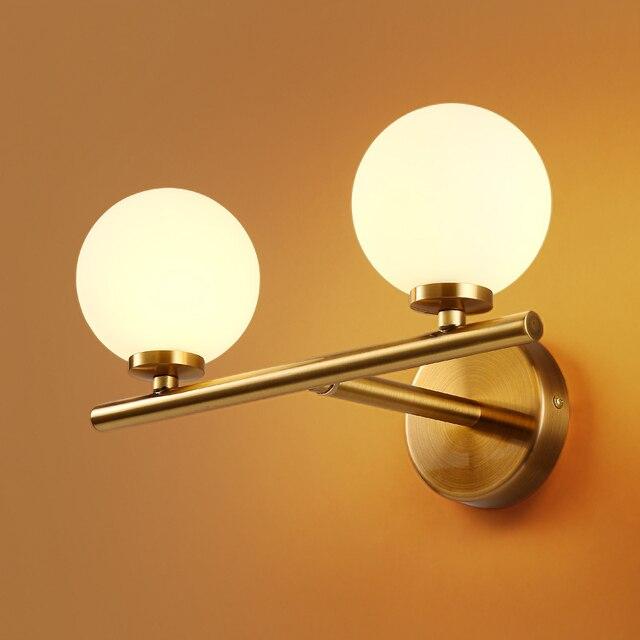 Nuova moda moderna lampada da parete soggiorno camera da - Applique led per camera da letto ...