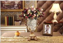 European study resin high ears big sitting room vases, flower implement