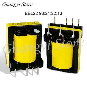 Image 1 - 5 adet EEl22 98: 21: 22: 13 Tüm bakır Yardımcı yüksek frekanslı transformatör için inverter kaynak makinası