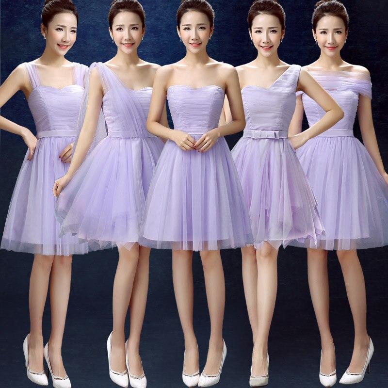 lace top teen multi style elegant bridesmaid dress light pink formal ...