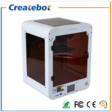 Popular Appearance High Accuarcy New Updated Createbot MINI 3D Printer with Heatbed, Dual Nozzle and Touchscreen 3D Printert