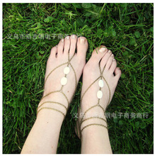 New Arrived ankle bracelet and Bracelet Bangle Slave Chain Link Finger Hand Harness Anklets Chain Chain Link Foot Women Jewelry