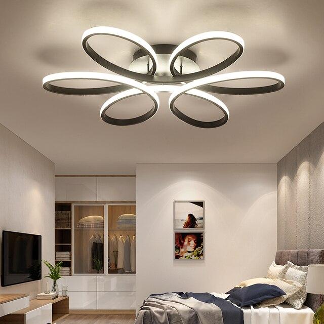 Neue Moderne Led Decke Kronleuchter Licht Für Wohnzimmer Schlafzimmer Innen  Acryl Decke Kronleuchter Leuchten Glanz