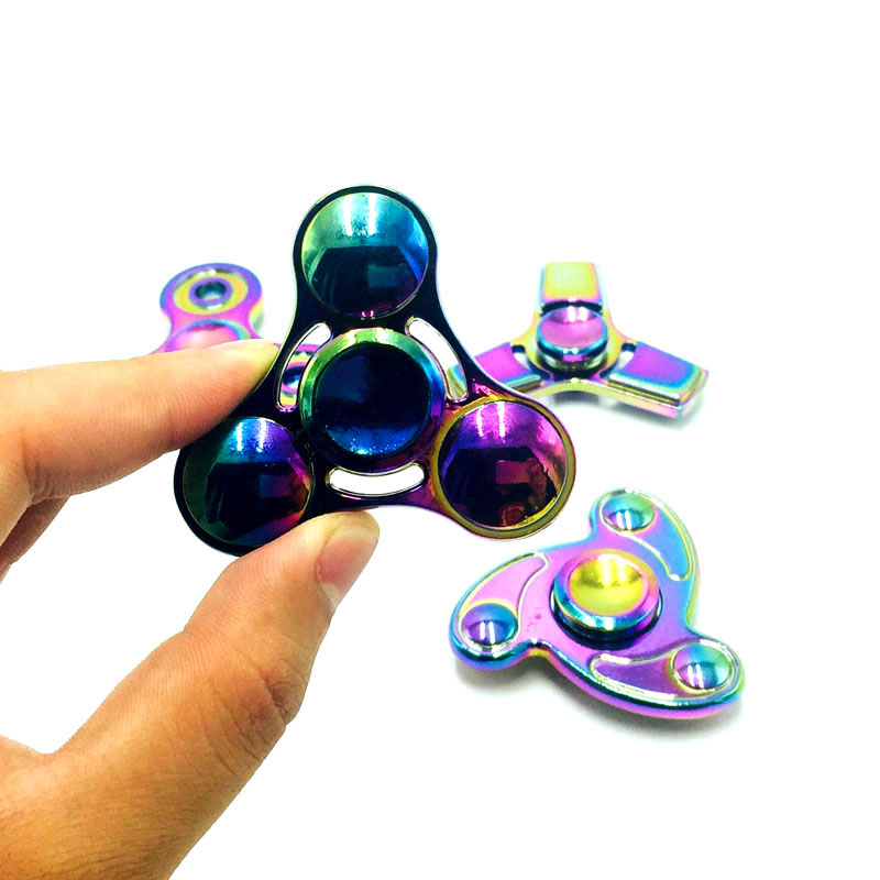 New fidget spinner hand Spinner Fidgets EDC Sensory Decorate finger spinner metal For Autism and ADHD Adult Anti Stress Toys infinity cube new style spinner fidget high quality anti stress mano metal kids finger toys luxury hot adult edc for adhd gifts