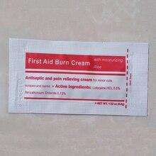 5 unids/pack Primeros Auxilios quemar crema accesorios para primeros auxilios Kit quemaduras, Scalds cuidado de heridas