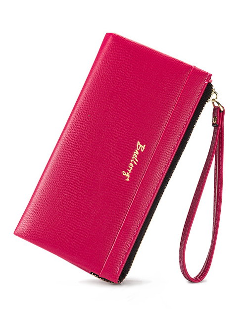 newest womens PU leather Long section wallets MS. hand strap money purse clutch free shi ...