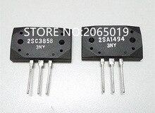 2 PAIRES/4 pièces 2SA1494 2SC3858 A1494 C3858 puce damplificateur de Puissance
