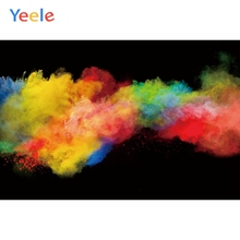 Yeele Colorful Dyeware Painting Photography Backgrounds Customized Photographic Backdrops for Photo Studio