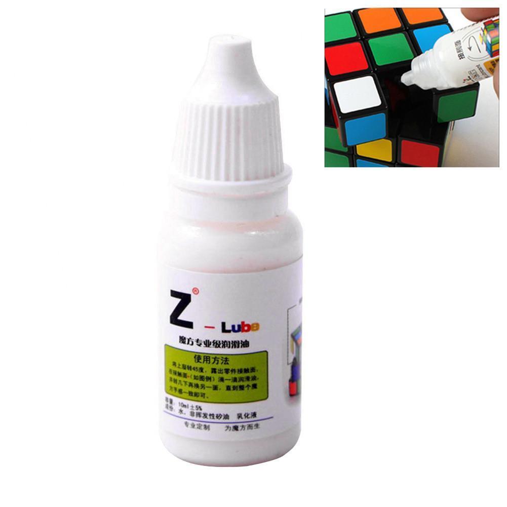 1 pcs Z- cube lubricating oil 10ML Cubo magic Maru cube oil best silicone lubricants Best Silicone Lubricants toys