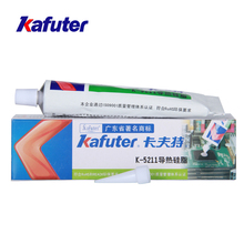 1PCS Kafuter K-5211 100g Thermal Conductive Silicone High-power LED Lamp Heat Sink Heat Special UPC Chipset Cooling Grease genuine 100g kafuter k 1668 industrial electronic components fixed adhesives yellow
