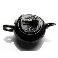 China black jade jade tea wine set function free shipping.