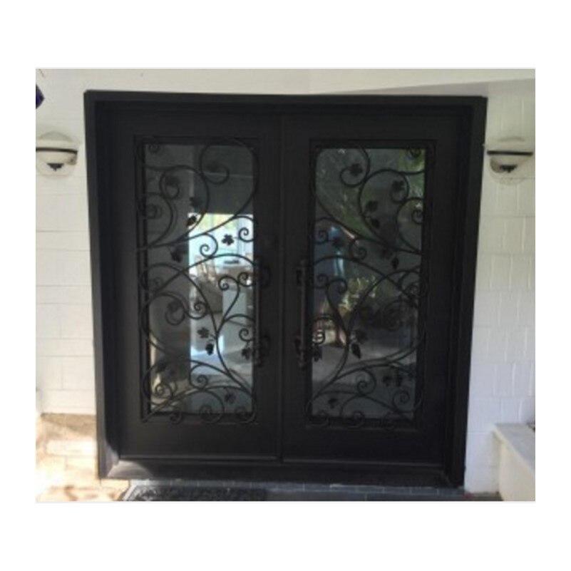 Wrought Iron Doors Phoenix  Iron Door With Transom