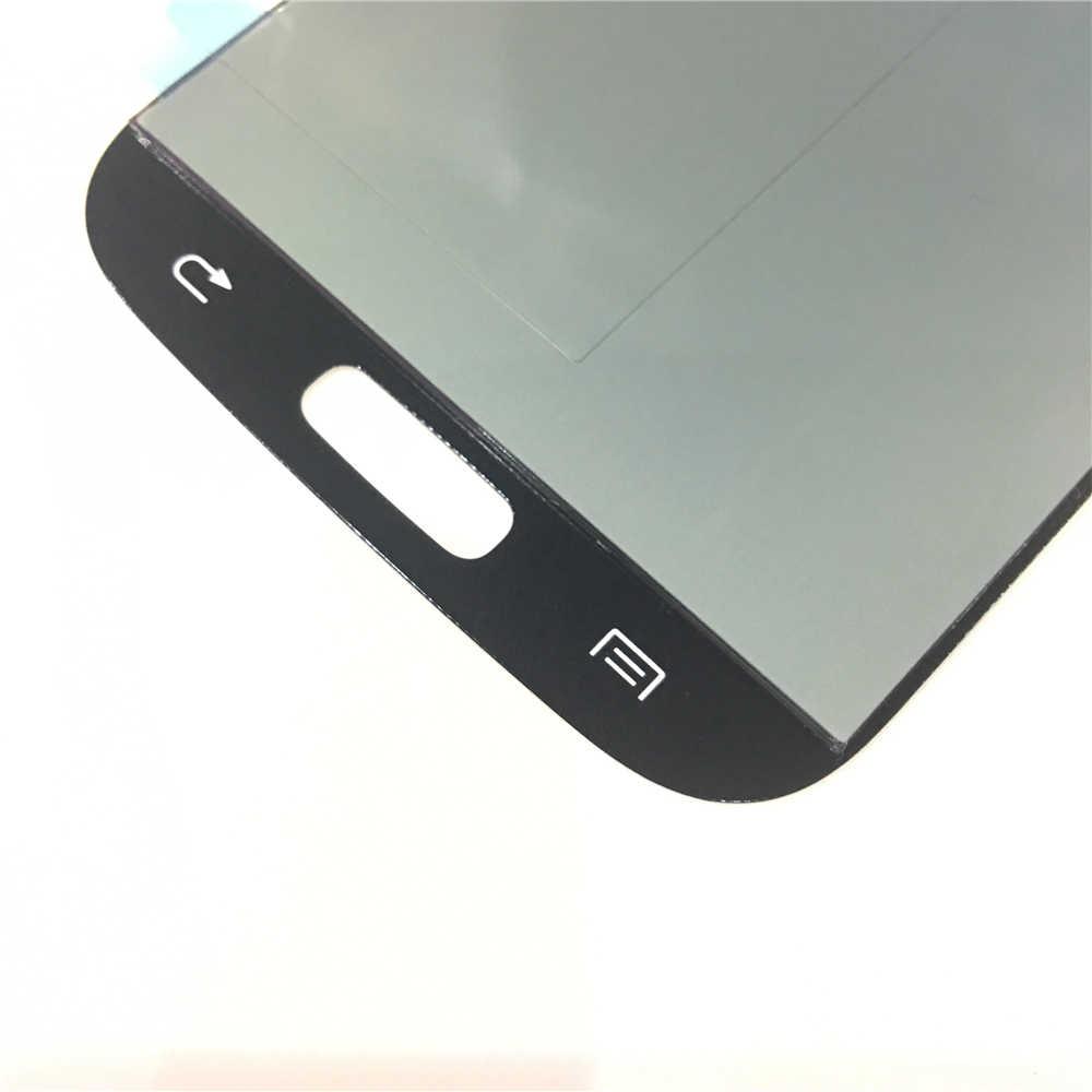 جديد سوبر AMOLED شاشات Lcd لسامسونج غالاكسي S4 i9500 i9505 i9506 i337 LCD شاشة عرض مجموعة رقمنة اللمس