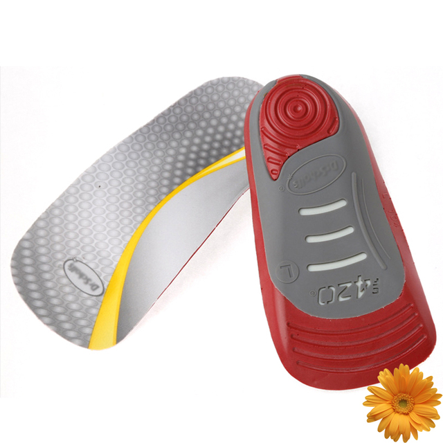 e47c42fd22 2019 New 3/4 Orthopedic Insoles Women Men Arch Support Orthotic Pads Flat  Foot Pronation Arthritis Heel Pain Relief Shoe Inserts