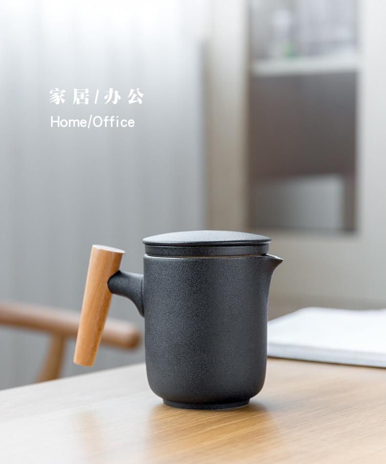 1//pcs Ceramic Quick Cup Set One Pot Two Cups Kung Fu Tea Set Teapot Portable Out
