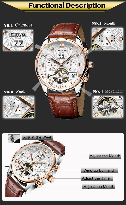 HTB1Jm.sRFXXXXbBaXXXq6xXFXXX7 - KINYUED Skeleton Watch for Men