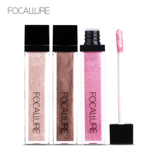 Focallure eyeshadow Glitter Waterproof Mata make up full professional pigment liquid shadow beauty makeup