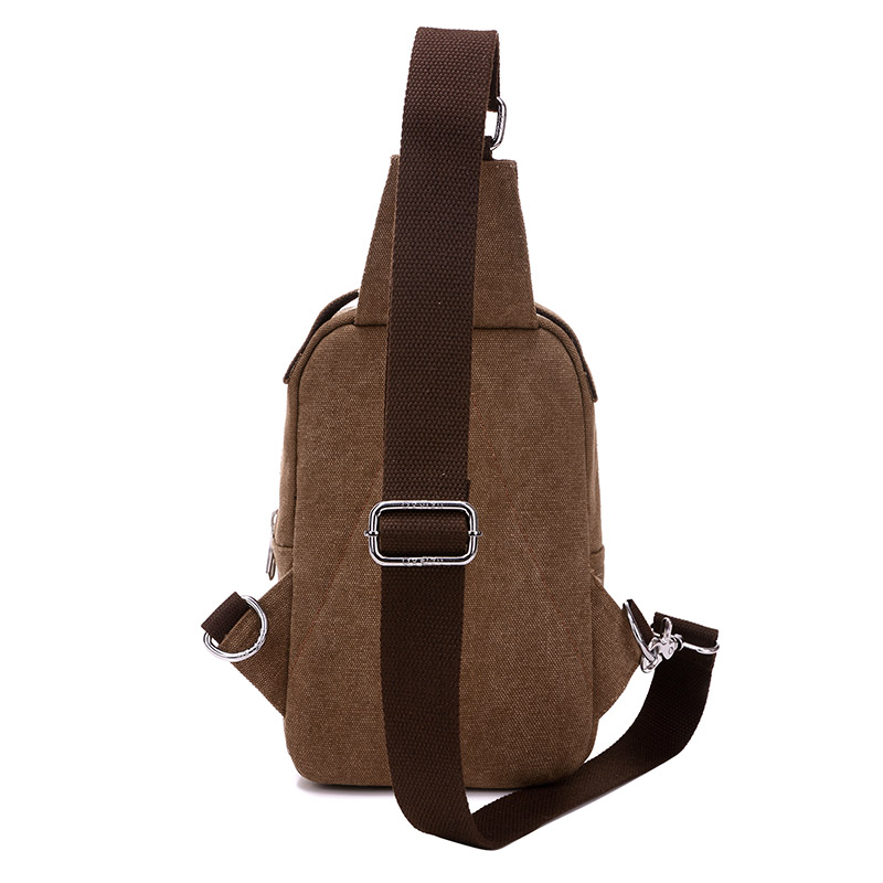 Vintage Men Messenger Bag Pillow Shape Casual Travel Rucksack Chest Bag Canvas Small Crossbody Fanny Shoulder Back Pack bolsas