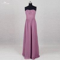 Rse291 дешевые свадьба гость платье шифон фиолетовый Подружкам невесты